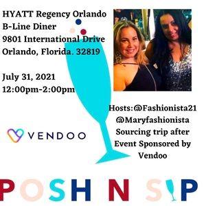 Posh N Sip Florida 7/31 12 pm Hyatt Orlando